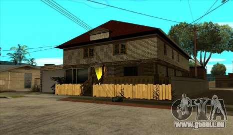 Modernes Haus von Sijia v1.0 für GTA San Andreas