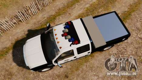 Ford F-250 Super Duty Police [ELS] pour GTA 4 est un droit