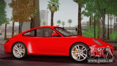 Porsche 911 Carrera pour GTA San Andreas laissé vue
