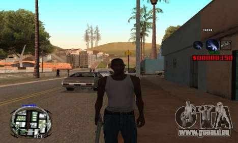 C-HUD (LSPD) pour GTA San Andreas
