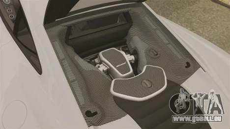 McLaren MP4-12C 2012 [EPM] pour GTA 4 est une vue de l'intérieur