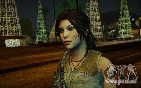 Tomb Raider Lara Croft Guerilla Outfit für GTA San Andreas zweiten Screenshot