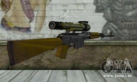 M76 pour GTA San Andreas deuxième écran