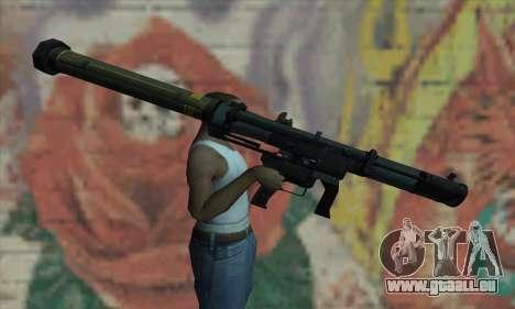 SMAW BF3 für GTA San Andreas dritten Screenshot