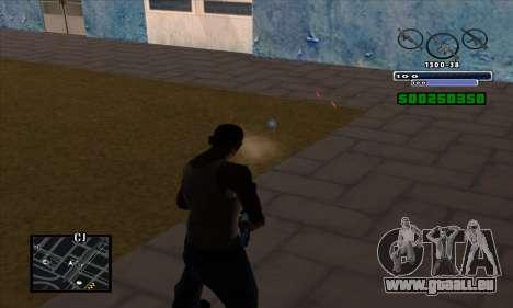 C-HUD pour GTA San Andreas quatrième écran