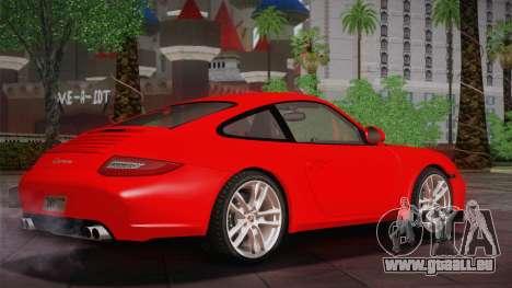 Porsche 911 Carrera für GTA San Andreas zurück linke Ansicht