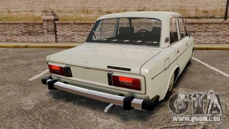 AIDE-Lada 2106 pour GTA 4 Vue arrière de la gauche