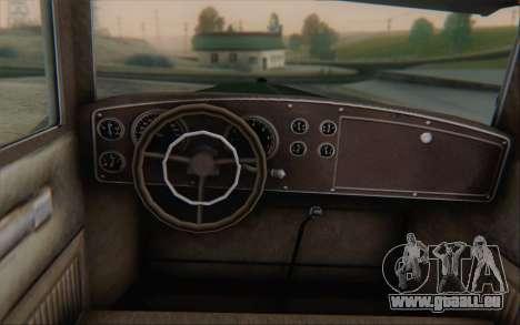 Albany Roosevelt from GTA V pour GTA San Andreas sur la vue arrière gauche