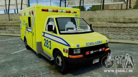 Brute New Liberty Ambulance [ELS] für GTA 4