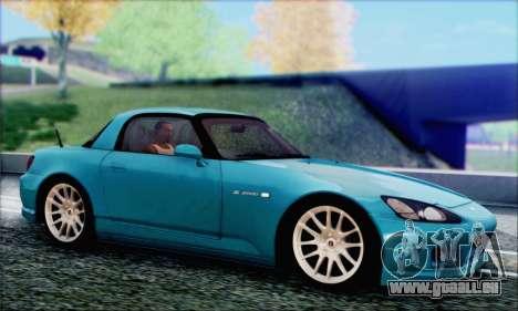 Honda S2000 Daily pour GTA San Andreas vue de dessus