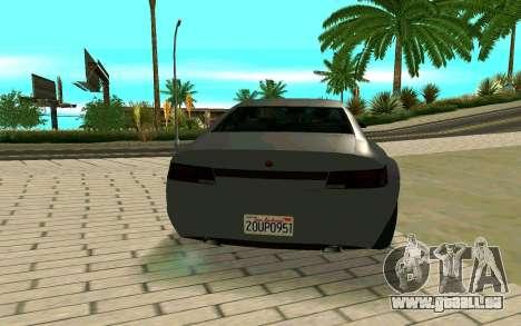 GTA V Fugitive Version 2 FIXED für GTA San Andreas zurück linke Ansicht