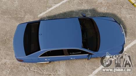 Mercedes-Benz E63 AMG 2014 pour GTA 4 est un droit