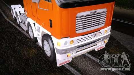 Freightliner Argosy 8x4 pour GTA San Andreas vue de côté