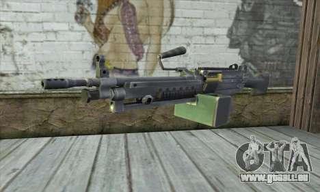 M16 из Postal 3 für GTA San Andreas