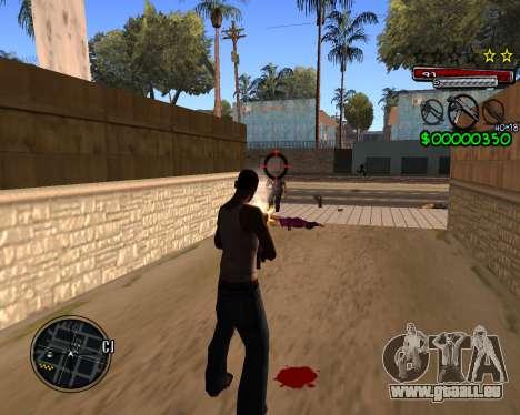 C-HUD by Santoro für GTA San Andreas dritten Screenshot
