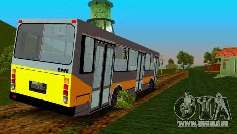 LIAZ-5256 pour une vue GTA Vice City de la gauche