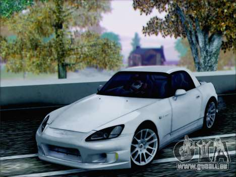 Honda S2000 Daily pour GTA San Andreas vue arrière