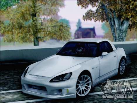 Honda S2000 Daily für GTA San Andreas Rückansicht