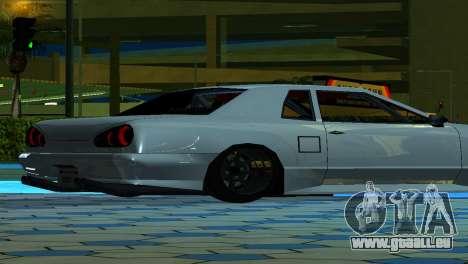 Elegy 280sx v2.0 für GTA San Andreas Rückansicht