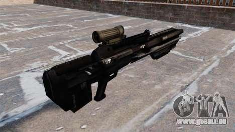 Gaußgewehr GK8 für GTA 4 Sekunden Bildschirm