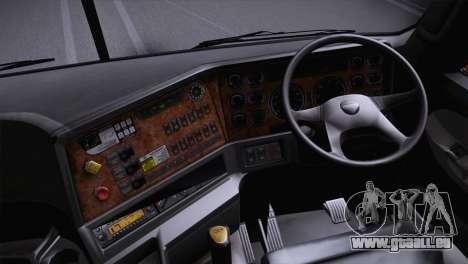 Freightliner Argosy 8x4 für GTA San Andreas zurück linke Ansicht