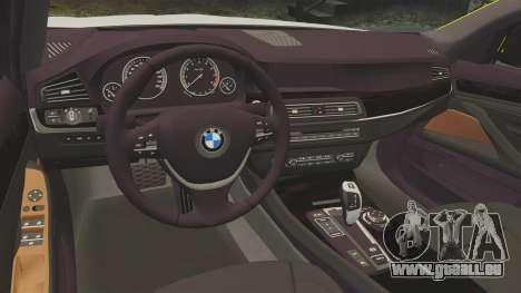 BMW 530d Touring Lancashire Police [ELS] für GTA 4 Innenansicht