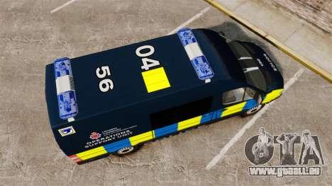 Mercedes-Benz Sprinter Police [ELS] pour GTA 4 est un droit