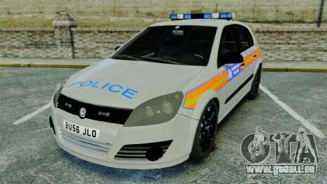 Vauxhall Astra Metropolitan Police [ELS] pour GTA 4