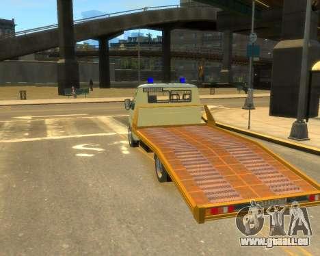 Gazelle Evacuator DPS für GTA 4 linke Ansicht