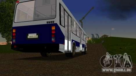 LIAZ-5256 pour une vue GTA Vice City de la droite