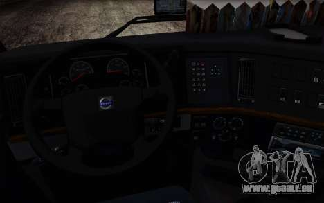 Volvo FH16 440 für GTA San Andreas Rückansicht