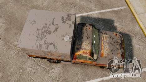 Anadol P2 500 (Rusty) für GTA 4 rechte Ansicht