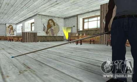 Pool cue für GTA San Andreas dritten Screenshot