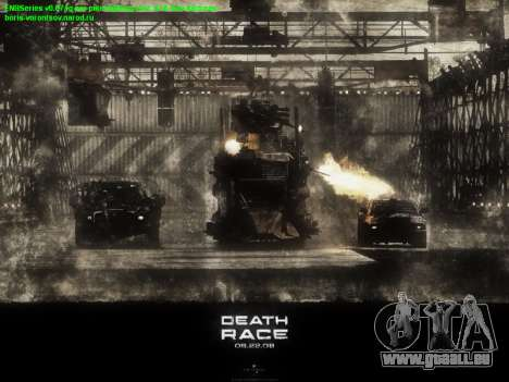 Boot-screens Death Race für GTA San Andreas her Screenshot