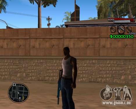 C-HUD by Santoro pour GTA San Andreas