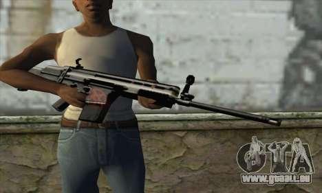 Fusil pour GTA San Andreas troisième écran