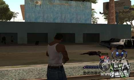 HUD by Anatole pour GTA San Andreas deuxième écran