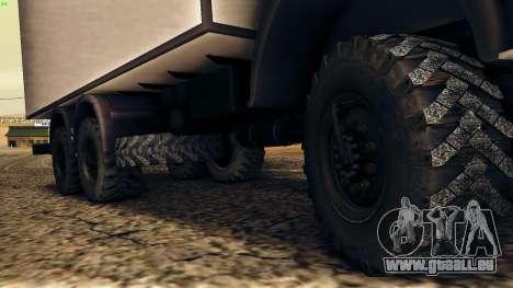 KamAZ-4310 für GTA San Andreas Seitenansicht