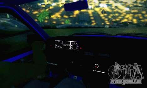 VAZ 21099 pour GTA San Andreas moteur
