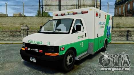 Brute GQ Med Ambulance [ELS] für GTA 4