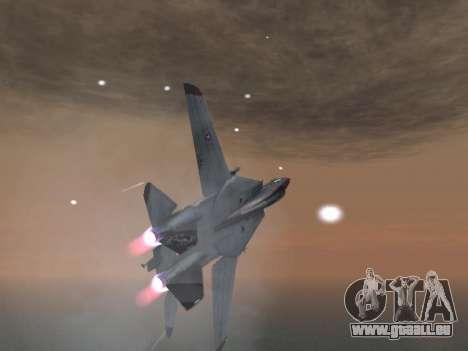 F-14 Tomcat-HQ für GTA San Andreas Seitenansicht