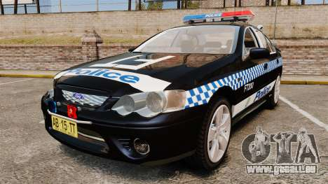 Ford BF Falcon XR6 Turbo Police [ELS] pour GTA 4
