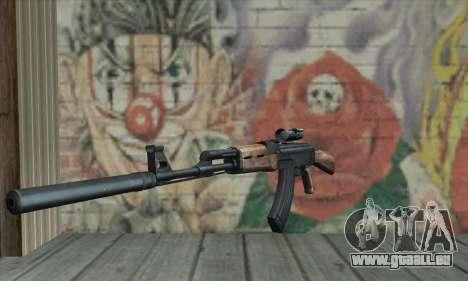 AK-47 Silencer für GTA San Andreas