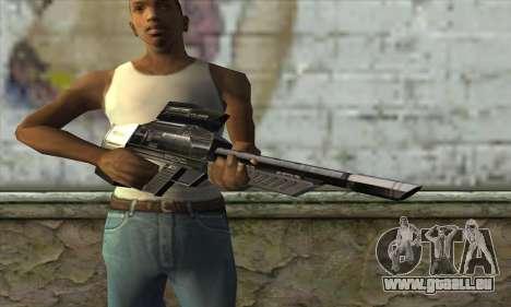 P-Laser Sniper Rifle pour GTA San Andreas troisième écran