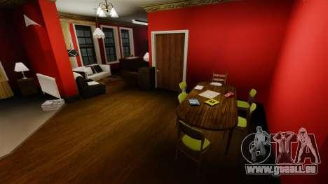 Renovierte Wohnung in Alderney city für GTA 4 weiter Screenshot