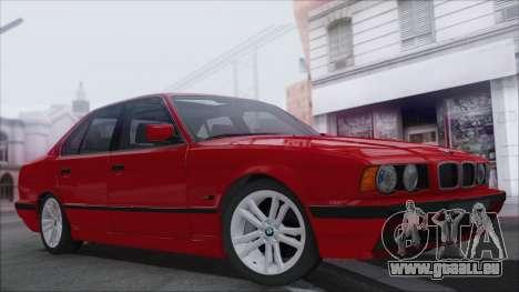 BMW 525i für GTA San Andreas Rückansicht