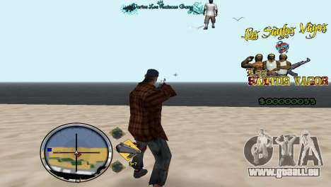 Hud By Fawkes für GTA San Andreas zweiten Screenshot