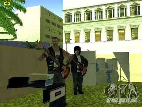 Le concert Film pour GTA San Andreas sixième écran