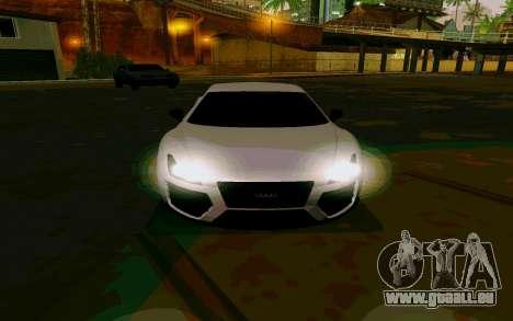 GTA V Obey 9F Version 2 FIXED pour GTA San Andreas sur la vue arrière gauche