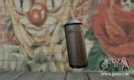 Montana Gold Spray pour GTA San Andreas deuxième écran